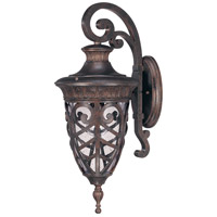 Nuvo Lighting Aston 1 Light Outdoor Wall in Dark Plum Bronze 60/2054