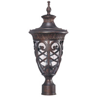 Aston 1 Light 23 inch Dark Plum Bronze Outdoor Post Lantern