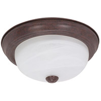 Nuvo 60/206 Signature 2 Light 13 inch Old Bronze Flushmount Ceiling Light