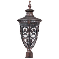 Nuvo Lighting Aston 3 Light Outdoor Post Lantern in Dark Plum Bronze 60/2060