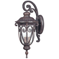 Nuvo Lighting Corniche 3 Light Outdoor Wall Lantern in Burlwood 60/2062 photo thumbnail
