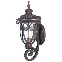 Nuvo Lighting Corniche 1 Light Outdoor Wall Lantern in Burlwood 60/2063