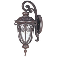 Nuvo Lighting Corniche 1 Light Outdoor Wall in Burlwood 60/2064