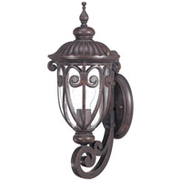 Nuvo Lighting Corniche 1 Light Outdoor Wall Lantern in Burlwood 60/2065