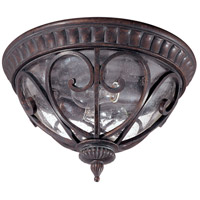 Nuvo Lighting Corniche 2 Light Outdoor Flushmount in Burlwood 60/2067