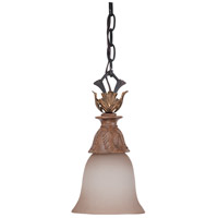 Nuvo Lighting Verdone 1 Light Mini Pendant in Gilded Cage 60/2107 photo thumbnail