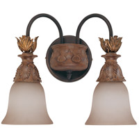 Nuvo Lighting Verdone 2 Light Vanity & Wall in Gilded Cage 60/2109