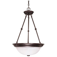 Nuvo 60/211 Signature 3 Light 15 inch Old Bronze Pendant Ceiling Light