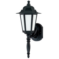 Nuvo Lighting Cornerstone Es 1 Light Outdoor Wall Lantern in Textured Black 60/2203