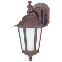 Nuvo Lighting Cornerstone Es 1 Light Outdoor Wall Lantern in Old Bronze 60/2205