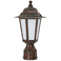 Nuvo Lighting Cornerstone Es 1 Light Outdoor Post Lantern in Old Bronze 60/2212
