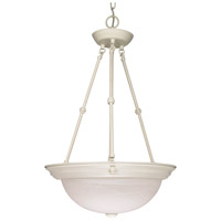 Nuvo Lighting Signature 3 Light Pendant in Textured White 60/227