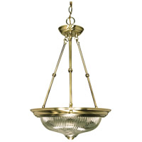 Nuvo Lighting Signature 3 Light Pendant in Antique Brass 60/235