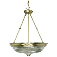Nuvo Lighting Signature 3 Light Pendant in Antique Brass 60/236