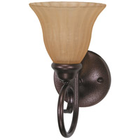 Nuvo Lighting Moulan 1 Light Vanity & Wall in Copper Bronze 60/2411