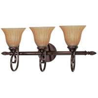Moulan 3 Light 25 inch Copper Bronze Vanity & Wall Wall Light
