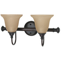Nuvo Lighting Mericana 2 Light Vanity & Wall in Old Bronze 60/2423