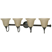 Nuvo Lighting Mericana 4 Light Vanity & Wall in Old Bronze 60/2425