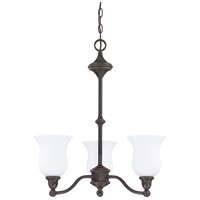 Nuvo Lighting Glenwood 3 Light Chandelier in Sudbury Bronze 60/2426