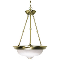 Nuvo Lighting Signature 3 Light Pendant in Antique Brass 60/243