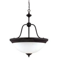 Nuvo Lighting Glenwood 4 Light Pendant in Sudbury Bronze 60/2431
