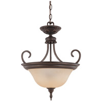 Nuvo Lighting Glenwood 2 Light Pendant in Sudbury Bronze 60/2432
