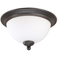 Glenwood 1 Light Sudbury Bronze Flushmount Ceiling Light