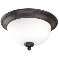 Nuvo Lighting Glenwood 2 Light Flushmount in Sudbury Bronze 60/2435