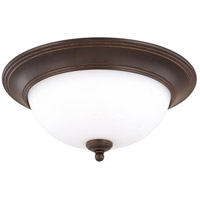Nuvo Lighting Glenwood 2 Light Flushmount in Sudbury Bronze 60/2436