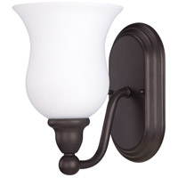 Nuvo Lighting Glenwood 1 Light Vanity & Wall in Sudbury Bronze 60/2437