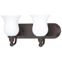 Nuvo Lighting Glenwood 2 Light Vanity & Wall in Sudbury Bronze 60/2438