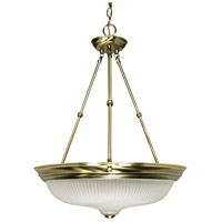 Nuvo Lighting Signature 3 Light Pendant in Antique Brass 60/244
