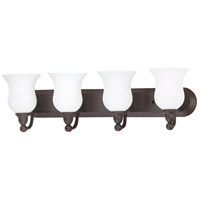 Nuvo Lighting Glenwood 4 Light Vanity & Wall in Sudbury Bronze 60/2441