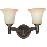 Nuvo Lighting Viceroy 2 Light Vanity & Wall in Golden Umber 60/2452