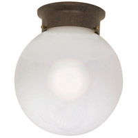 Nuvo 60/248 Signature 1 Light 8 inch Old Bronze Flushmount Ceiling Light photo thumbnail
