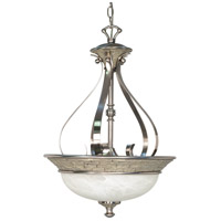 Nuvo Lighting Rockport Milano 3 Light Pendant in Brushed Nickel 60/2492 photo thumbnail