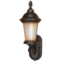 Nuvo Lighting Clarion 1 Light Outdoor Wall Lantern with Photocell in Chestnut Bronze 60/2501 photo thumbnail