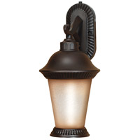 Nuvo Lighting Clarion 1 Light Outdoor Wall Lantern with Photocell in Chestnut Bronze 60/2503