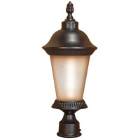 Nuvo Lighting Clarion 1 Light Outdoor Post in Chestnut Bronze 60/2505