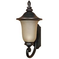 Nuvo Lighting Parisian 1 Light Outdoor Wall Lantern with Photocell in Old Penny Bronze 60/2507