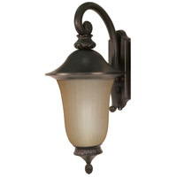 Nuvo Lighting Parisian 1 Light Outdoor Wall Lantern in Old Penny Bronze 60/2508