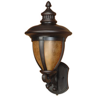 Nuvo Lighting Galeon 1 Light Outdoor Wall Lantern with Photocell in Old Penny Bronze 60/2518 photo thumbnail