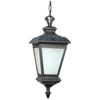 Nuvo Lighting Charter 1 Light Outdoor Post in Old Penny Bronze 60/2524