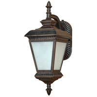 Nuvo Lighting Charter 1 Light Outdoor Hanging Lantern with Photocell in Old Penny Bronze 60/2526 photo thumbnail
