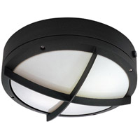 Nuvo Lighting Hudson 2 Light Outdoor Wall Lantern with Photocell in Matte Black 60/2543