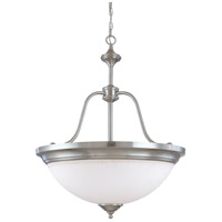 Nuvo Lighting Glenwood 4 Light Pendant in Brushed Nickel 60/2561