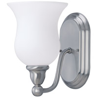 Nuvo Lighting Glenwood 1 Light Vanity & Wall in Brushed Nickel 60/2567