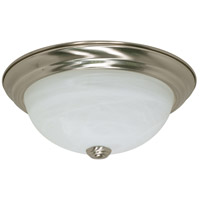 Nuvo Lighting Signature 2 Light Flushmount in Brushed Nickel 60/2621