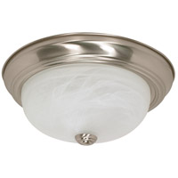 Nuvo Lighting Signature 2 Light Flushmount in Brushed Nickel 60/2622