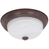Signature 2 Light 11 inch Old Bronze Flushmount Ceiling Light